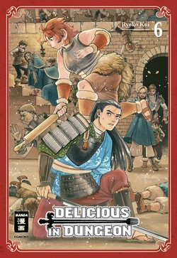 Delicious in Dungeon 06 von Kui,  Ryouko, Peter,  Claudia