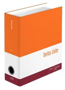 Delta Liste, Gesamtwerk