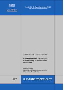 Dem Kulturwandel auf der Spur von Burkhardt,  Anke, Harrlandt,  Florian