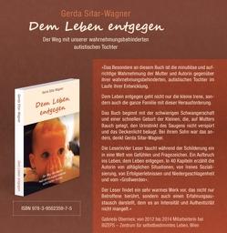 Dem Leben entgegen von Sitar-Wagner,  Gerda