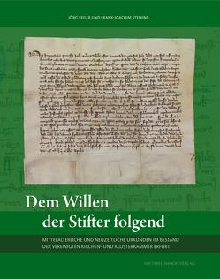 Dem Willen der Stifter folgend von Seiler,  Jörg, Stewing,  Frank-Joachim