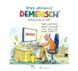 DEMENSCH Postkartenkalender 2018 von FIVE e.V. AGP Sozialforschung, Gaymann,  Peter
