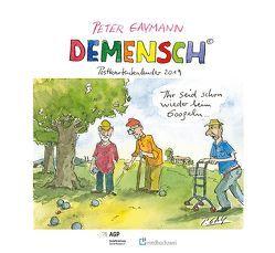 Demensch. Postkartenkalender 2019 von Gaymann,  Peter, Klie,  Thomas