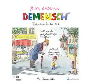 Demensch. Postkartenkalender 2021 von Gaymann,  Peter, Klie,  Thomas
