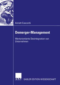 Demerger-Management von Cascorbi,  Annett