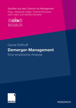 Demerger-Management von Böllhoff,  Daniel, Schewe,  Prof. Dr. Gerhard