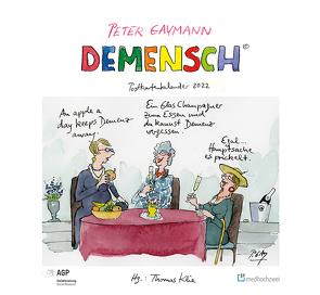 Demensch. Postkartenkalender 2022 von Gaymann,  Peter, Klie,  Thomas