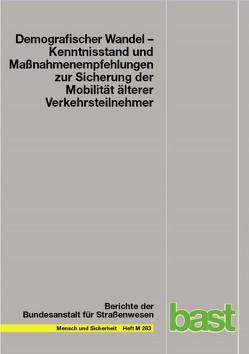 Demografischer Wandel von Bartmann,  Astrid, Gräcmann,  Nicole, Schubert,  Kristina