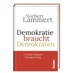 Demokratie braucht Demokraten von Lammert,  Norbert