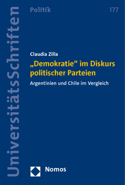 """""""Demokratie"""" im Diskurs politischer Parteien von Zilla,  Claudia"""
