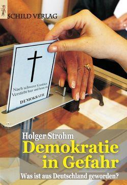 Demokratie in Gefahr von Strohm,  Holger