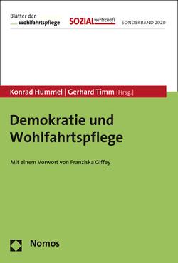 Demokratie und Wohlfahrtspflege von Hummel,  Konrad, Timm,  Gerhard