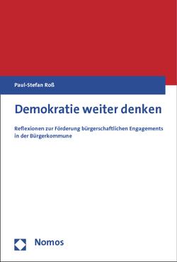 Demokratie weiter denken von Roß,  Paul-Stefan