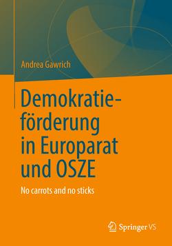 Demokratieförderung von Europarat und OSZE von Gawrich,  Andrea