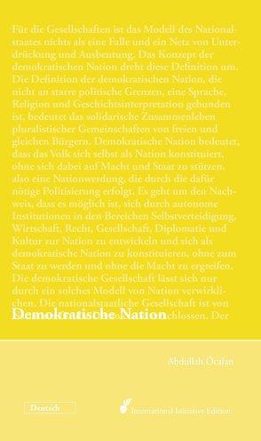 Demokratische Nation von Öcalan,  Abdullah