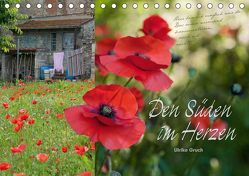 Den Süden im Herzen (Tischkalender 2019 DIN A5 quer) von Gruch,  Ulrike
