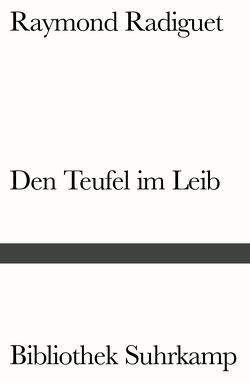 Den Teufel im Leib von Kemp,  Friedhelm, Radiguet,  Raymond
