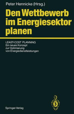 Den Wettbewerb im Energiesektor planen von Hennicke,  Peter