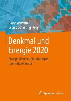 Denkmal und Energie 2020 von Scheuring,  Leonie, Weller,  Bernhard