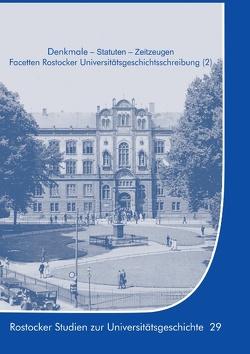 Denkmale – Statuten – Zeitzeugen von Boeck,  Gisela, Lammel,  Hans-Uwe