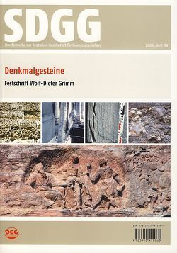 Denkmalgesteine von Siegesmund,  Siegfried, Snethlage,  Rolf