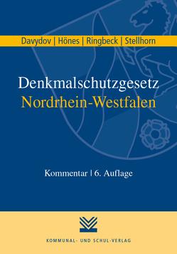 Denkmalschutzgesetz Nordrhein-Westfalen von Davydov,  Dimitrij, Hönes,  Ernst R, Ringbeck,  Birgitta, Stellhorn,  Holger