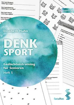 Denksport Heft 5 (Zusatzmaterial) von Hahn,  Elisabeth