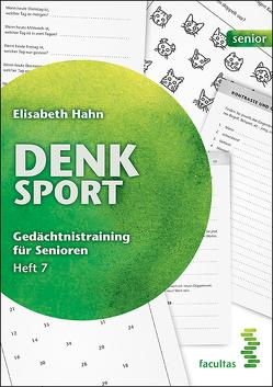 Denksport Heft 7 (Zusatzmaterial) von Hahn,  Elisabeth