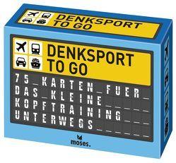 Denksport to go von Domzalski,  Oliver, Schäfer,  Wilhelm