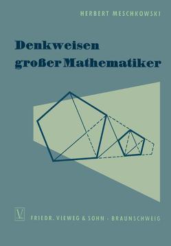 Denkweisen großer Mathematiker von Meschkowski,  Herbert