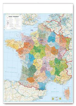Departementkarte Frankreich von garant Verlag GmbH