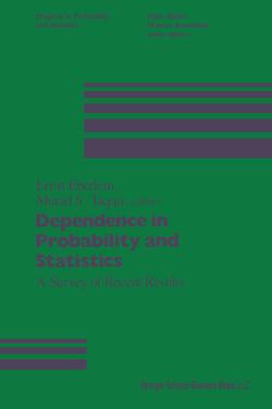 Dependence in Probability and Statistics von Eberlein, Taqqu,  Murad