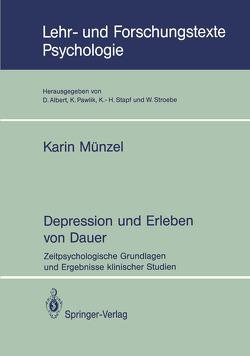 Depression und Erleben von Dauer von Münzel,  Karin