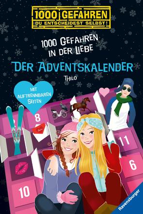 Der Adventskalender – 1000 Gefahren in der Liebe von Liepins,  Carolin, THiLO