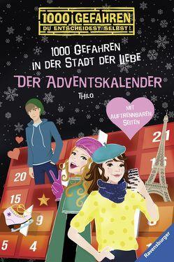 Der Adventskalender – 1000 Gefahren in der Stadt der Liebe von Liepins,  Carolin, THiLO