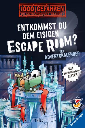 Der Adventskalender – Entkommst du dem eisigen Escape Room? von Kampmann,  Stefani, THiLO