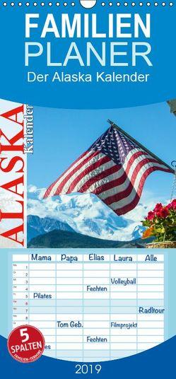 Der Alaska Kalender – Familienplaner hoch (Wandkalender 2019 , 21 cm x 45 cm, hoch) von Steinwald,  Max