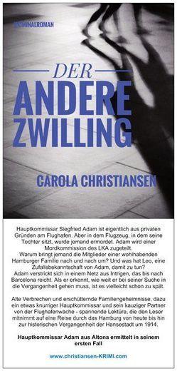 Der andere Zwilling von Christiansen,  Carola