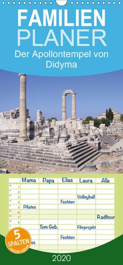 Der Apollontempel von Didyma – Familienplaner hoch (Wandkalender 2020 , 21 cm x 45 cm, hoch) von Monzel,  Andrea