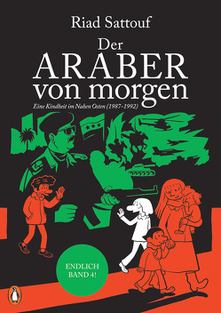 Der Araber von morgen, Band 4 von Platthaus,  Andreas, Sattouf,  Riad