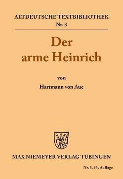 Der arme Heinrich von Hartmann, Mettke,  Heinz