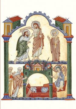 Der Auferstandene mit Thomas und Maria Magdalena