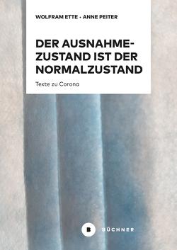 Der Ausnahmezustand ist der Normalzustand, nur wahrer von Ette,  Wolfram, Peiter,  Anne D.
