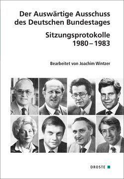 Der Auswärtige Ausschuss des Deutschen Bundestages von Wintzer,  Joachim
