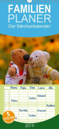 Der Bärchenkalender – Familienplaner hoch (Wandkalender 2019 , 21 cm x 45 cm, hoch) von Berger,  Evelyne