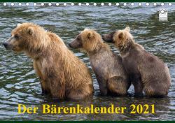 Der Bärenkalender 2021 (Tischkalender 2021 DIN A5 quer) von Steinwald,  Max