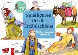 Der barmherzige Samariter. Spielfiguren für die Erzählschiene. von Lefin,  Petra