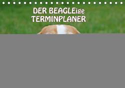 DER BEAGLEige TERMINPLANER (Tischkalender 2021 DIN A5 quer) von Lindert-Rottke,  Antje