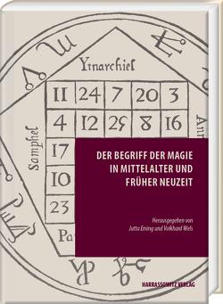 Der Begriff der Magie in Mittelalter und Früher Neuzeit von Eming,  Jutta, Wels,  Volkhard