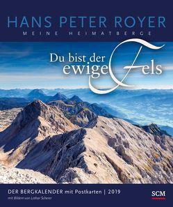Der Bergkalender 2019 – Postkartenkalender von Royer,  Hans Peter